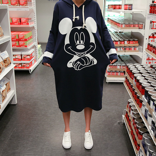 <b>Mickey hooded dress line</b>