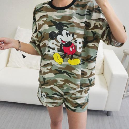 <b>[SET] Military Mickey Training set</b>