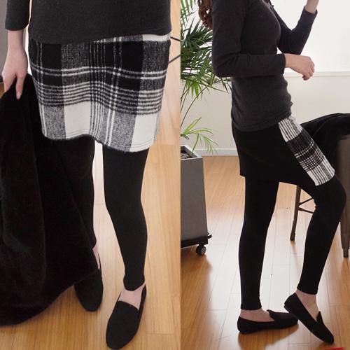 <b>Check Skirt leggings</b>