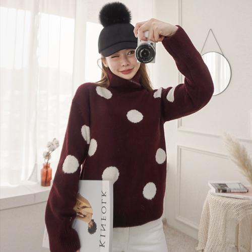 <b>Snow dots Paula Knit</b>