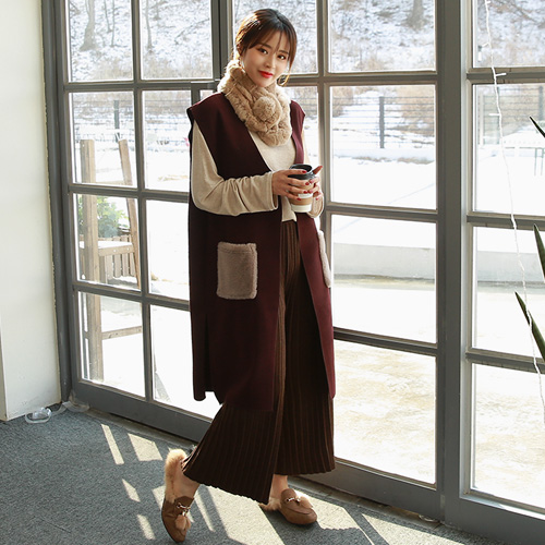 <b>Bjarne Wool Long Best</b>