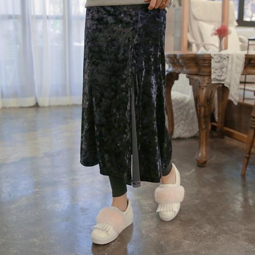<b>Velvet Skirt leggings</b>