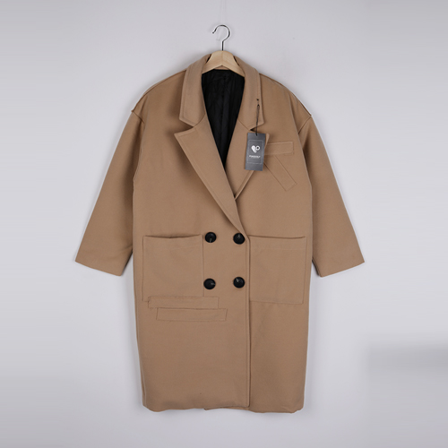 <b>[SAMPLE SALE] overfit long patch coat</b>