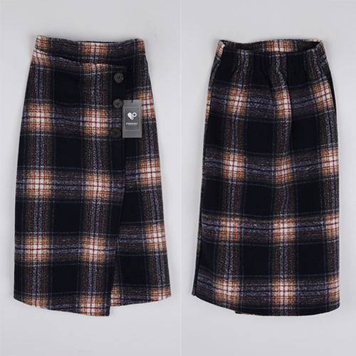 <b>[SAMPLE SALE] Block Check Rong skirt</b>