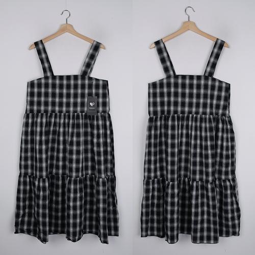 <b>[SAMPLE SALE] Kinda Check Nashi Dress</b>