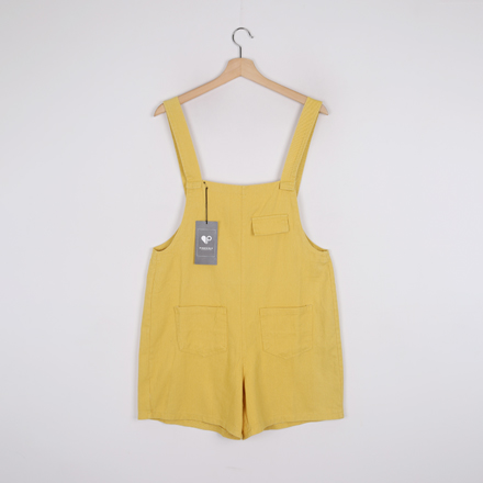<b>[SAMPLE SALE] Pocket Wide Short Jump Suit</b>