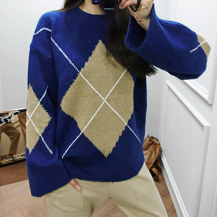 <b>King Dia Box Knit</b>