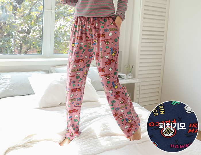 <b>Marble Peach Pajama Pants</b> <br><br> <font color=red>[Book Sales] 11/22 Sequential Shipping</font> </br>