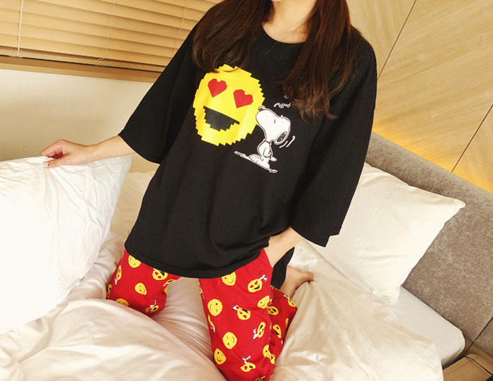 <b>[SET] Smile Snoopy Pajama Set</b>