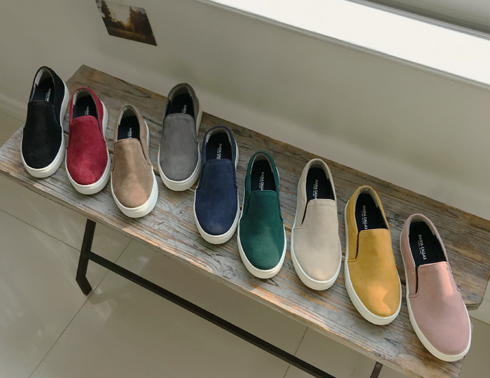 <b>Trendy Suede Slip-on Shoes (3cm)</b>