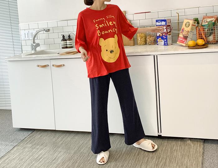 <b>[SET] with pooh pajamas set</b>