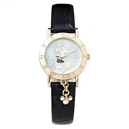<b>Little Mickey Leather-Clock</b>