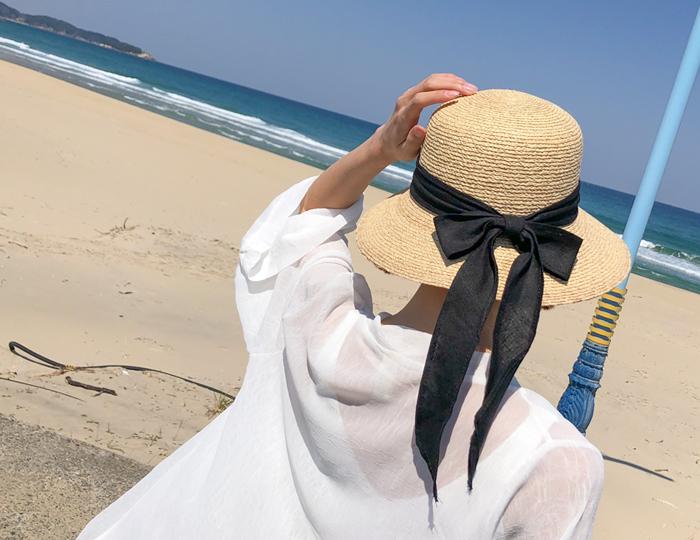 <b>lovely natural raffia -hat</b>