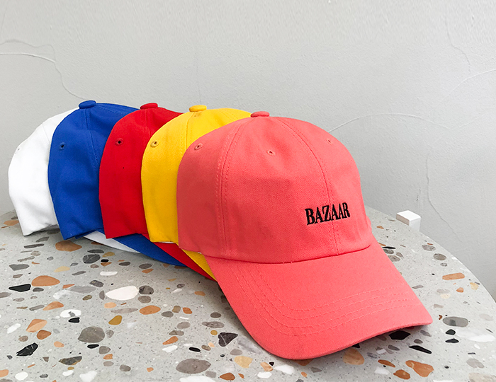 <b>Bazaar Color ballcap</b>