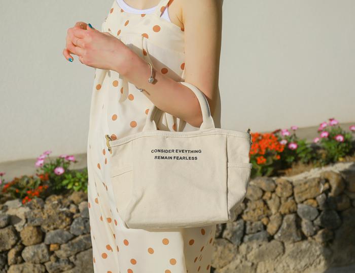 <b>Mini Line Cotton Bag</b>