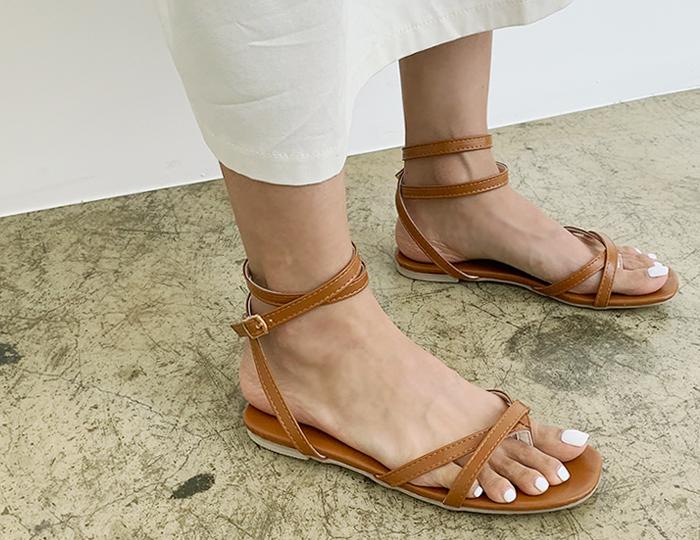 <b>Hercules Strap Sandals (1cm)</b>
