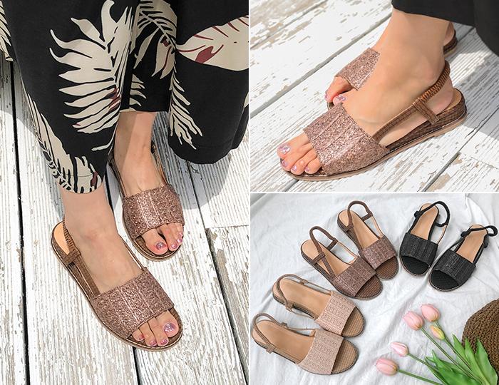 <b>Ratoon Straw Sandals (2cm)</b>