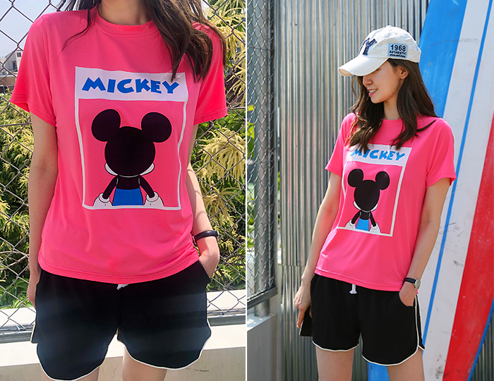<b>Mickey BACK Ice T-shirt</b>