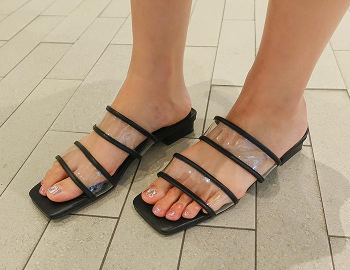 <b>Angelus Enamel Slippers (2cm)</b>