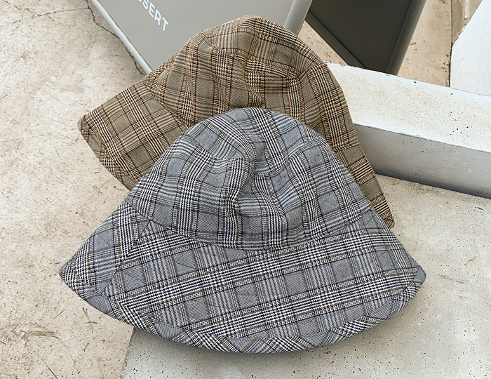 <b>Bellong Check Bucket-hat</b>