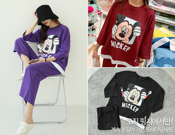<b>[SET] Welcome Mickey Training set</b>