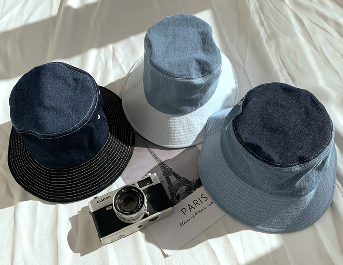 <b>two tone Denim bucket</b>