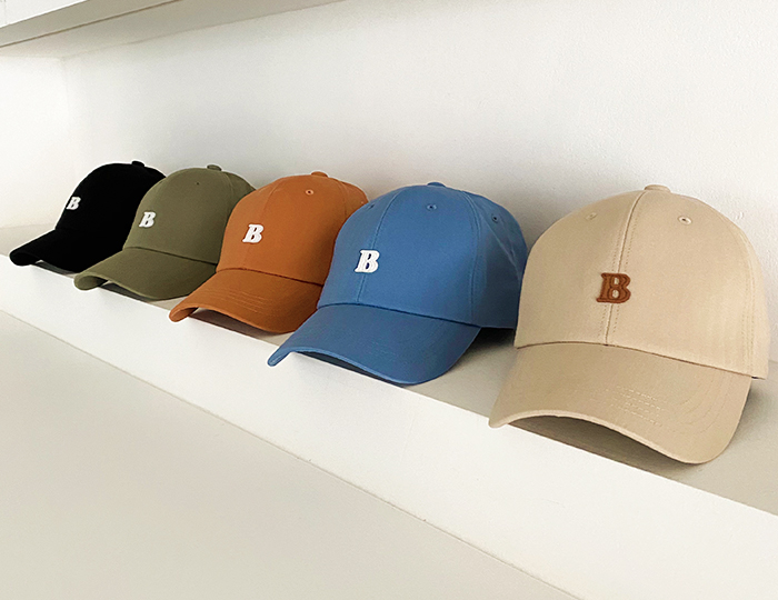<b>B patch ball-cap</b>