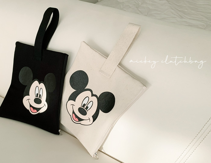 <b>Mickey Clutch-bag</b><br><br> <font color=red>[Pre-order] 4/23 sequential delivery</font></br>